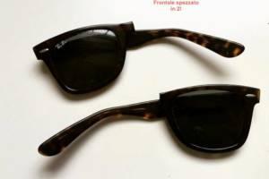 Riparazione occhiali rotti