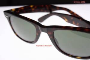 Riparazione occhiali - ripristino frontale