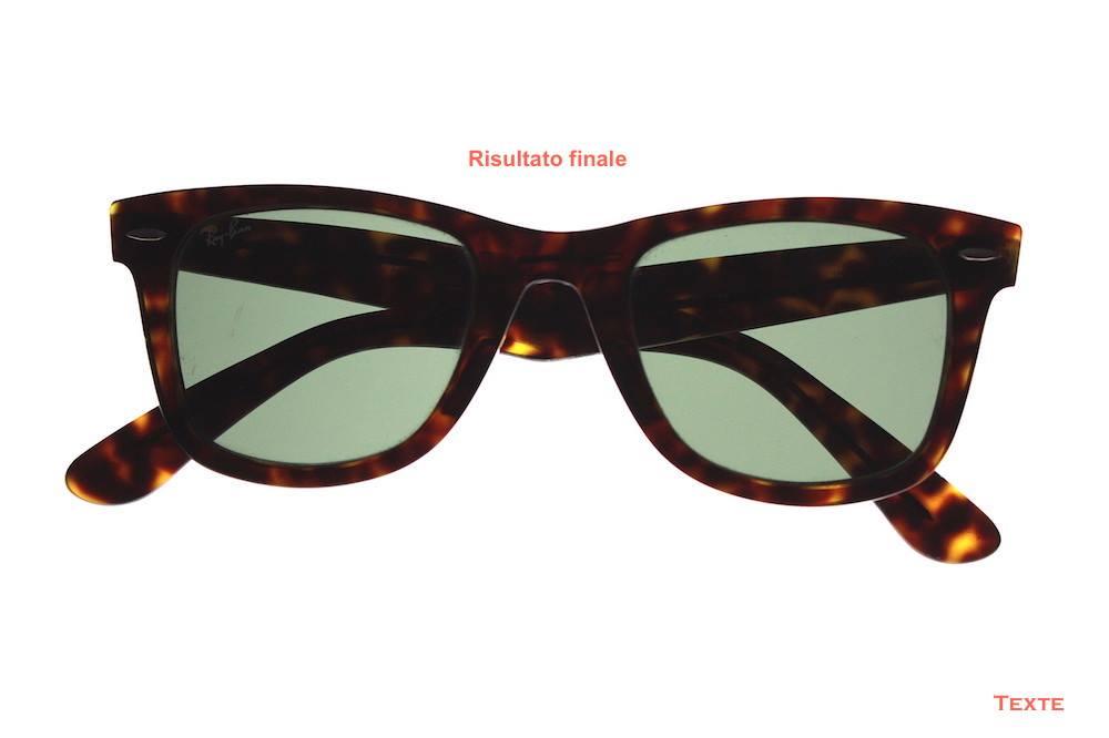 Riparazione occhiali - risultato finale