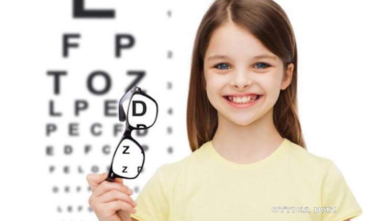Scegliere bene gli occhiali per i nostri figli.