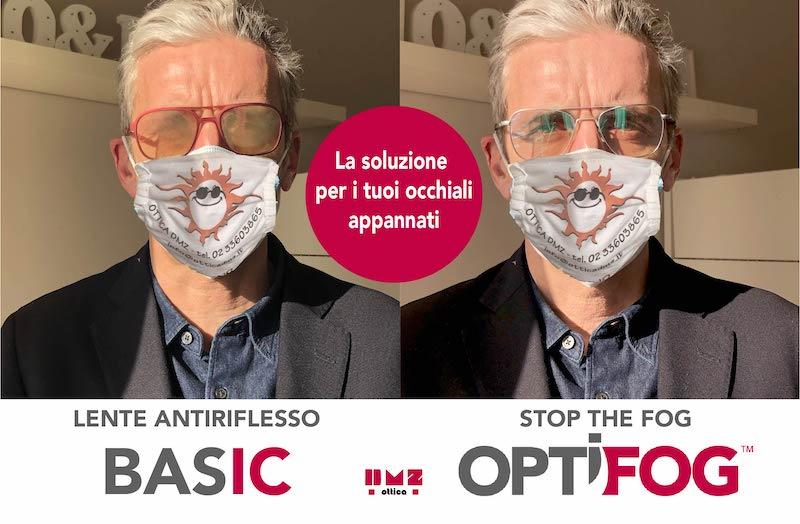 Trattamento anti appannamento OptiFog